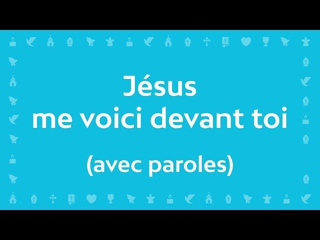 Jean-Claude Gianadda - Jésus me voici devant toi | Chant chrétien avec paroles pour Pâques