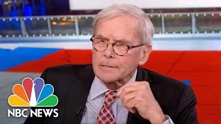 Tom Brokaw: Washington, National Media 'Too Walled Off' | NBC News