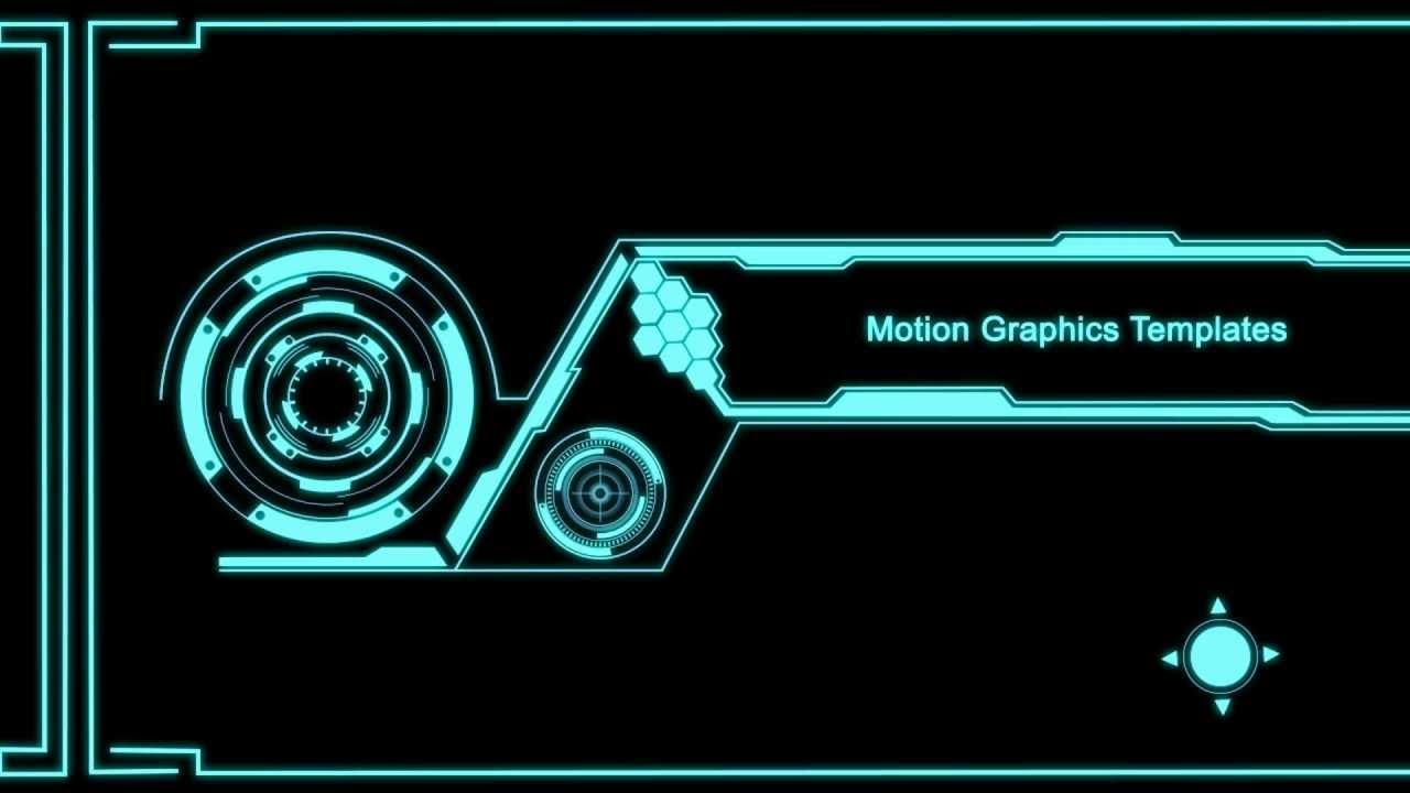 free motion graphic templates youtube