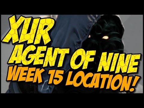 Xur Agent of Nine! Christmas Day Edition, Items and ...