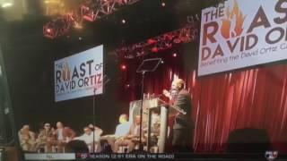 Dustin Pedroia roasts David Ortiz