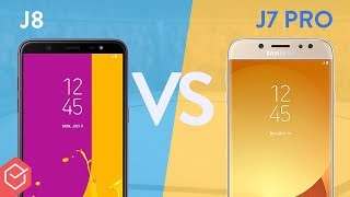 Samsung Galaxy J8 vs Galaxy J7 PRO - qual melhor? | Comparativo