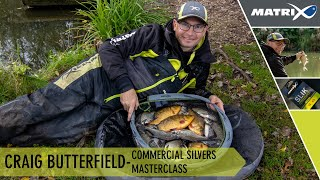 Coarse Match Fishing TV Craig Butterfield Commercial Silvers Masterclass