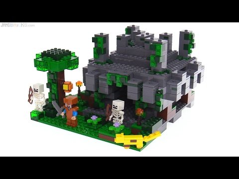 LEGO Minecraft Jungle Temple review! 21132