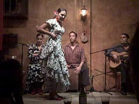 Flamenco show at La Barraca restaurant