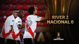 River Plate vs. Nacional [2-0] | RESUMEN | Cuartos de Final | CONMEBOL Libertadores
