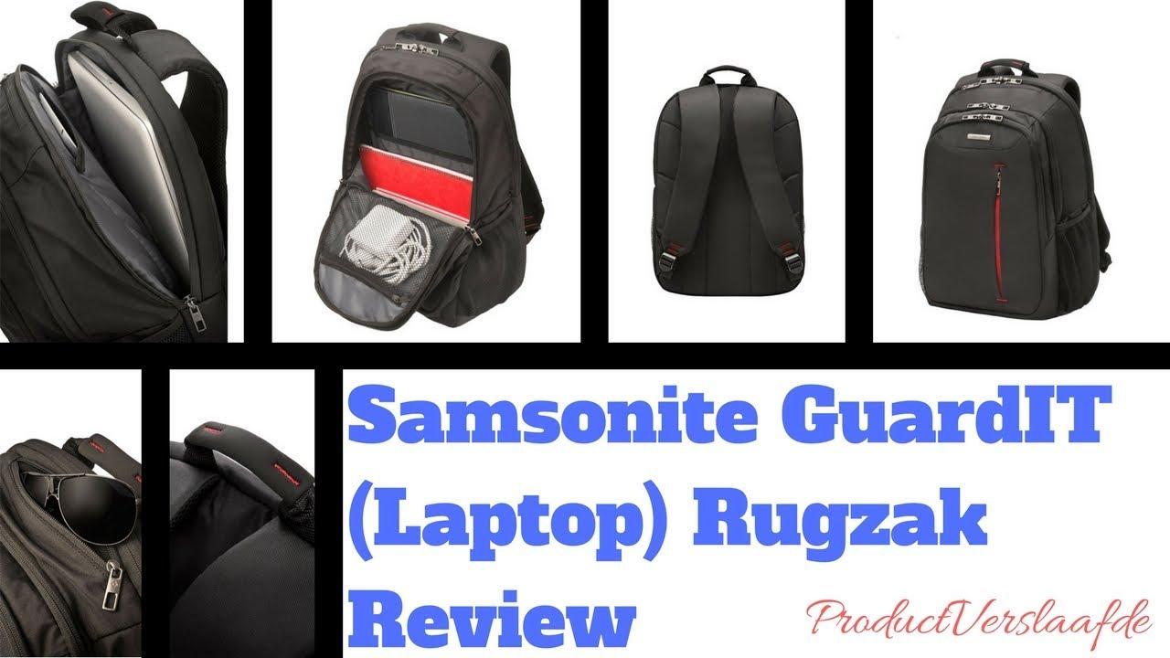599a89fa51d Samsonite GuardIT (Laptop) Backpack Review (Nederlands) - YouTube