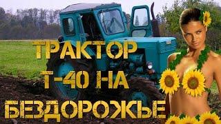 Трактор Т-40 На Бездорожье