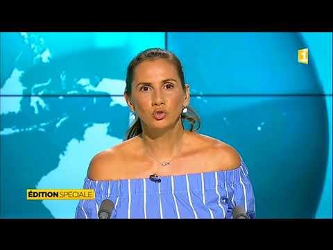 Guadeloupe 1ére - Le 13 heures 6.9.2017 - Hurricane Irma