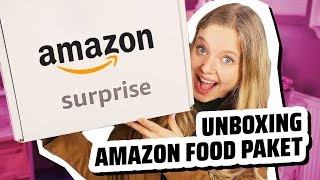 SURPRISE! Unboxing Amazon Food Paket 📦