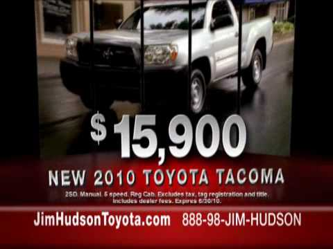 Delightful June 2010 Columbia SC Toyota Tacoma Sale At Jim Hudson Toyota