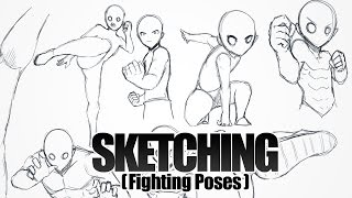 vuclip SKETCHING - Fighting Poses