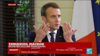 """EXCLUSIF - Emmanuel Macron : En Afrique, """"une défiance s'est installée à l'égard de la France"""""""