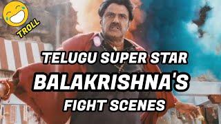 Balakrishna funny actions /Troll Malayalam