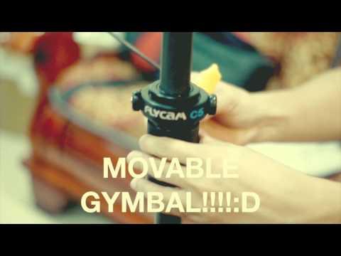 FLYCAM C5 :Demo / Assembly / Balancing