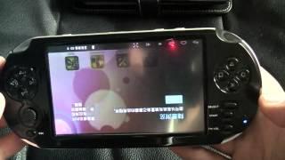 Retour sur la PSP Android NONAME - Gros bug !