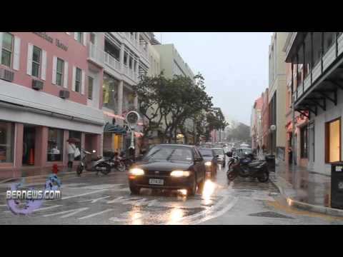 Hamilton , Bermuda - Bad Weather Dec 5 2010