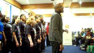 Clifton Ross with the Mosaic Singers of Detroit- We Shall Overcome
