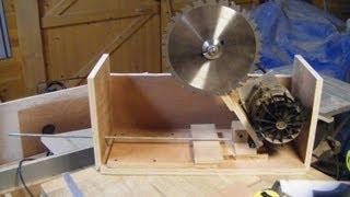 Scie sur table DIY : Fabrication du berceau moteur - 1ère Partie