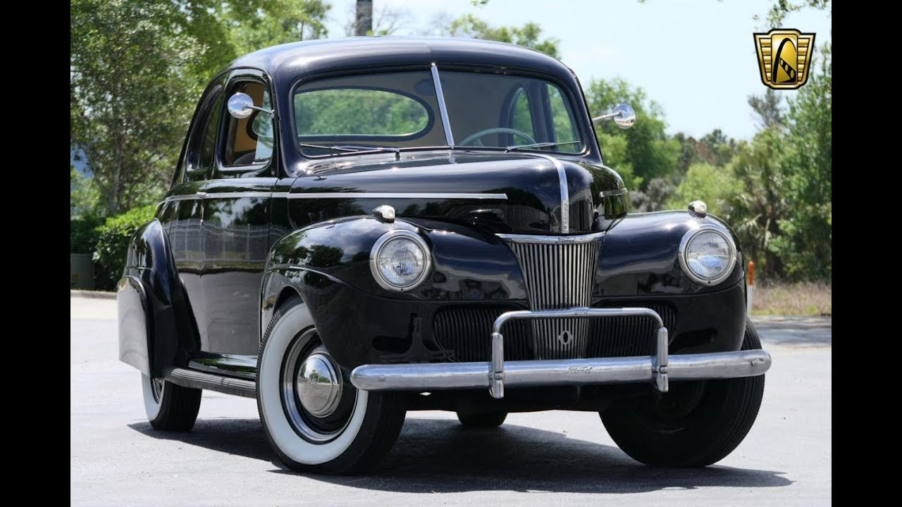 1941 Ford Deluxe Opera Coupe Gateway Orlando 1123 Youtube Truck Front Fenders
