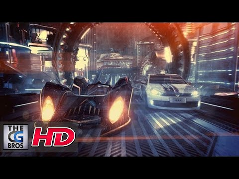 """CGI Animated Spot : VW Golf GTI """"Out Of This World"""" Directed by - Kaism Lim"""