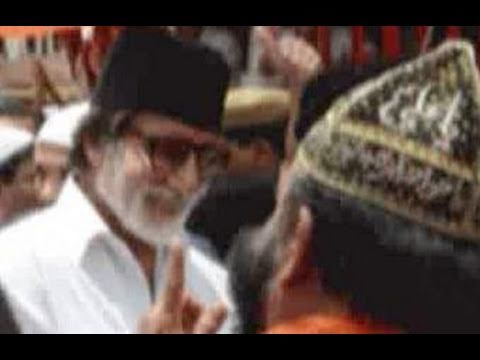 Amitabh Bachchan spotted at Ajmer dargah