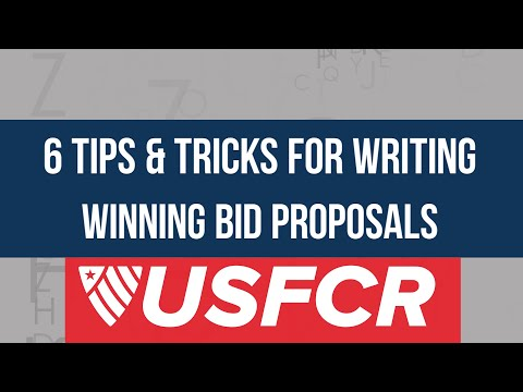 Write Winning Bid Proposals On Federal Contracts: 6 Tips & Tricks From The Other Side