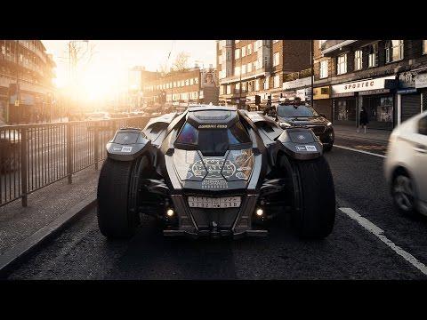La Batmobile con motore Lamborghini parteciperà alla Gumball 3000