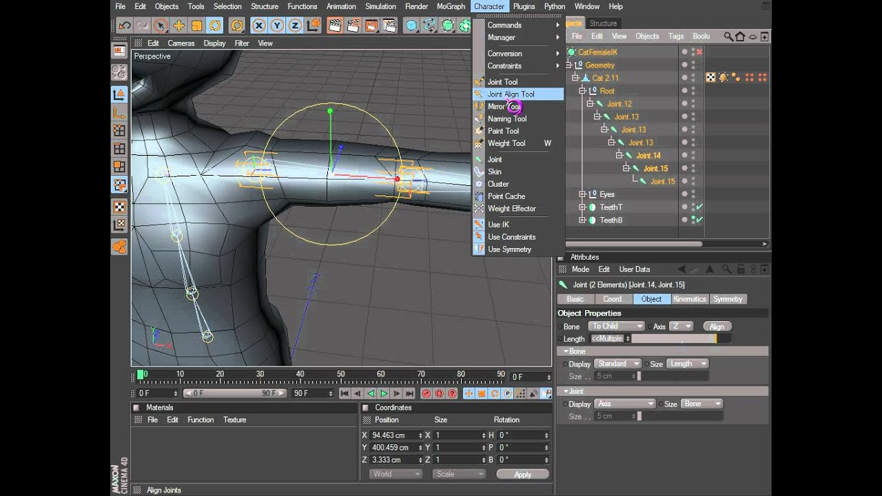 maya 2015 how to move joints