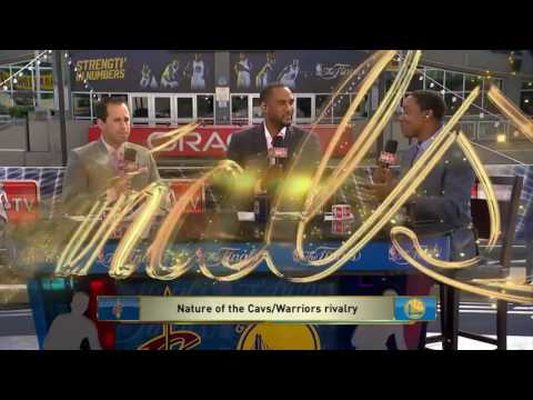 Cavaliers Warriors Rivalry- Game Time -NBa FInals June 1 2017