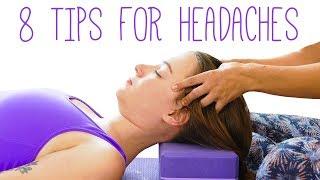 8 Tips for Headaches & Stress Relief | Ultra Relaxing Music, Soft Spoken | Chandler Rose