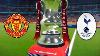 FA Cup Final 2020 - Manchester United vs Tottenham - PES 2020 ML EP102