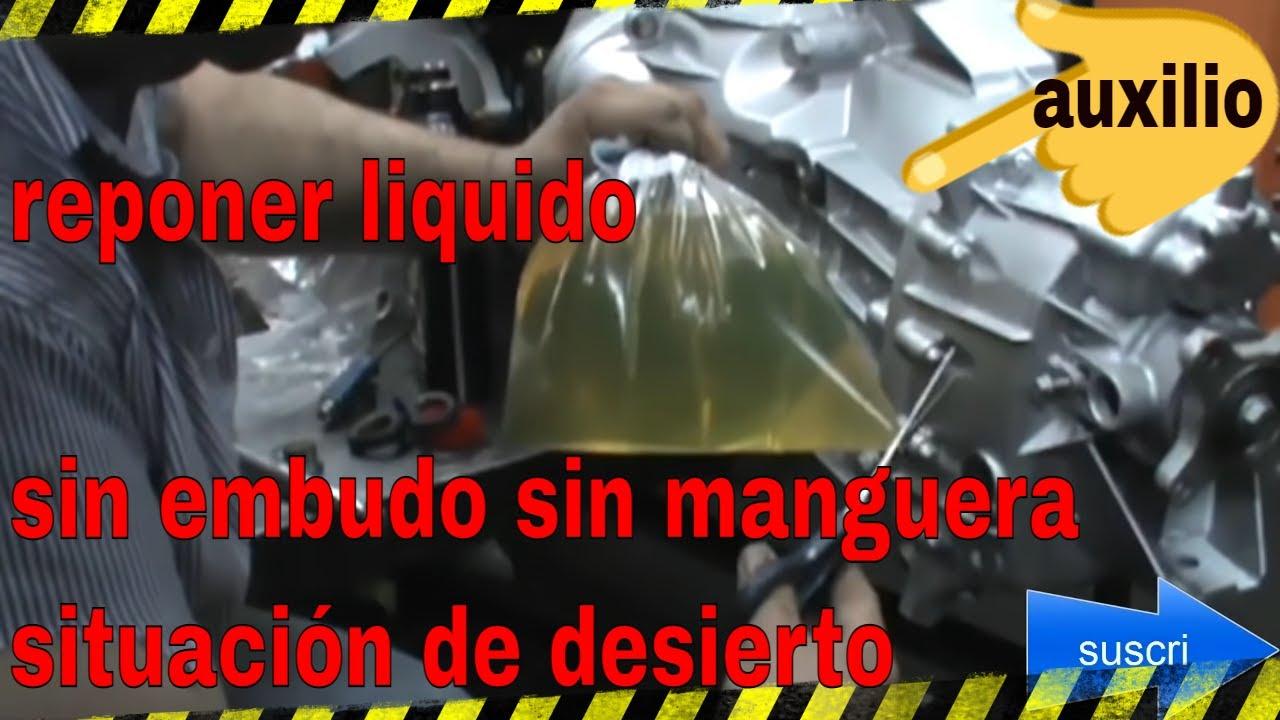 aceite transmisión caja de cambios (facil y rapido) - YouTube