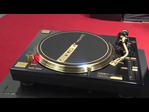 Musikmesse 2016 Reloop RP 7000 GLD Turntable Limited Edition Gold Prolight+Sound (english)
