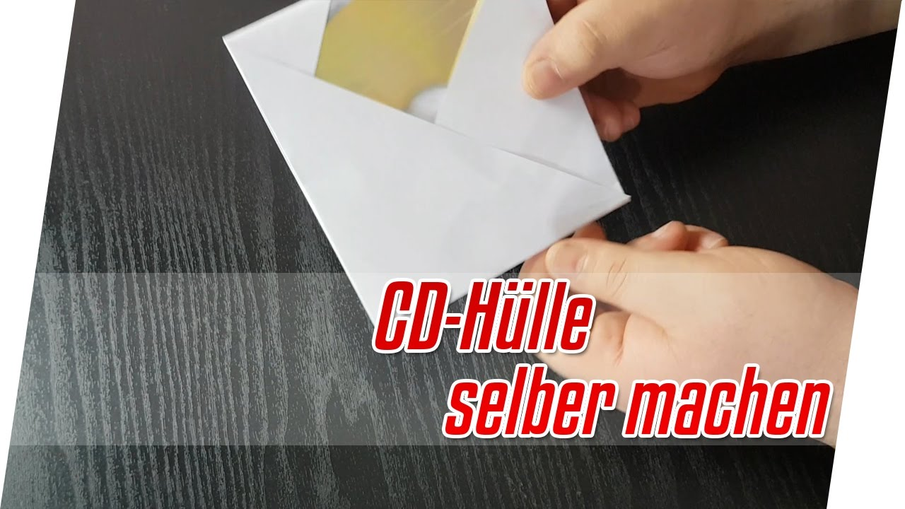 Do It Yourself Cd Hülle Aus Papier Falten Cd Hülle Aus Papier Falten Tutorial Blackmurat