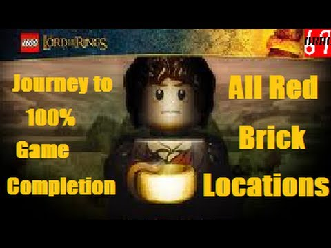 Red Brick Locations Lego Lord Of The Rings