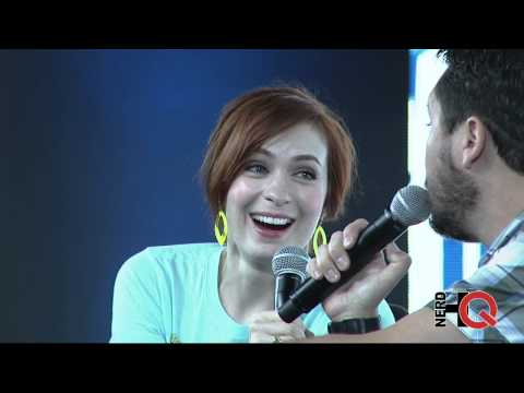A Conversation with Wil Wheaton & Felicia Day at #NerdHQ 2014