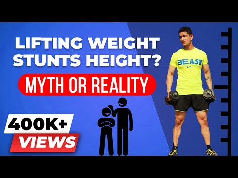 Does lifting weights STUNT your HEIGHT? | Does weight training stop your growth?
