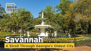 Savannah - A Stroll through Georgia's Oldest City - U.S. Road Trip Ep. #6