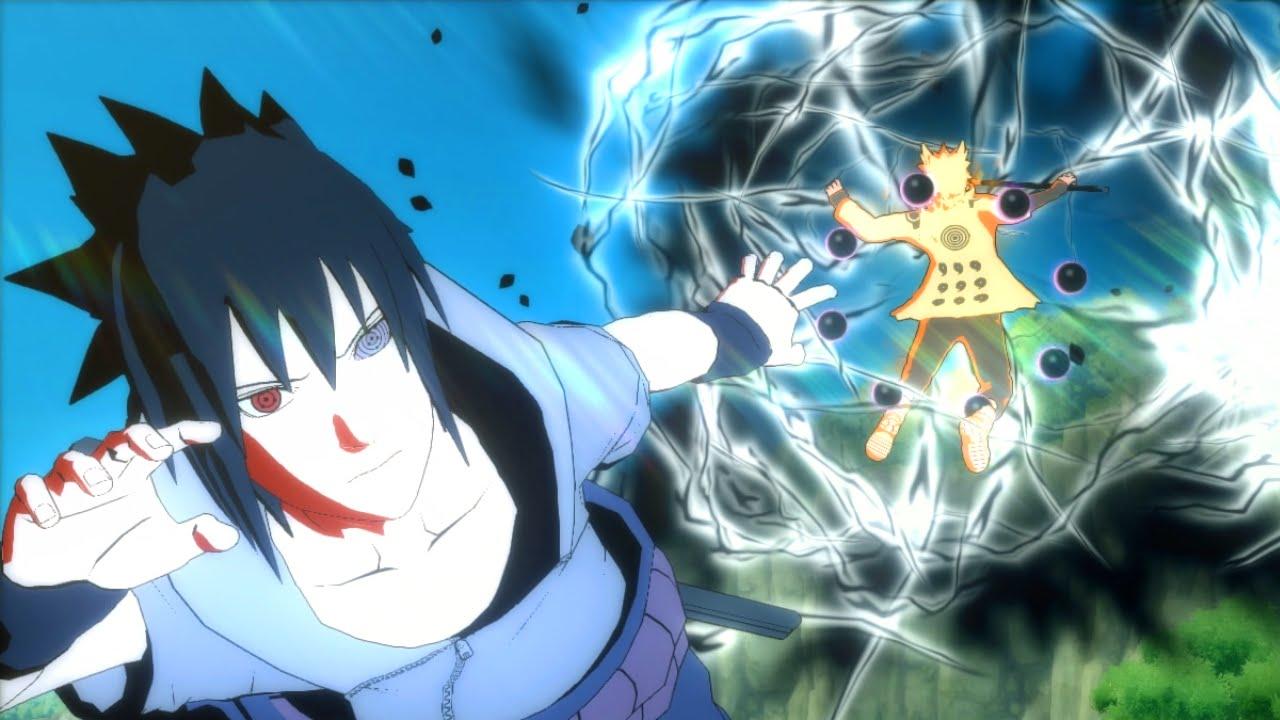 Ultimate Rinne Sharingan Full Power Sasuke Awakening Moveset Mod