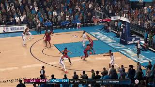 NBA LIVE 18 - Breen comments on Rose getting hit in the head with a pass
