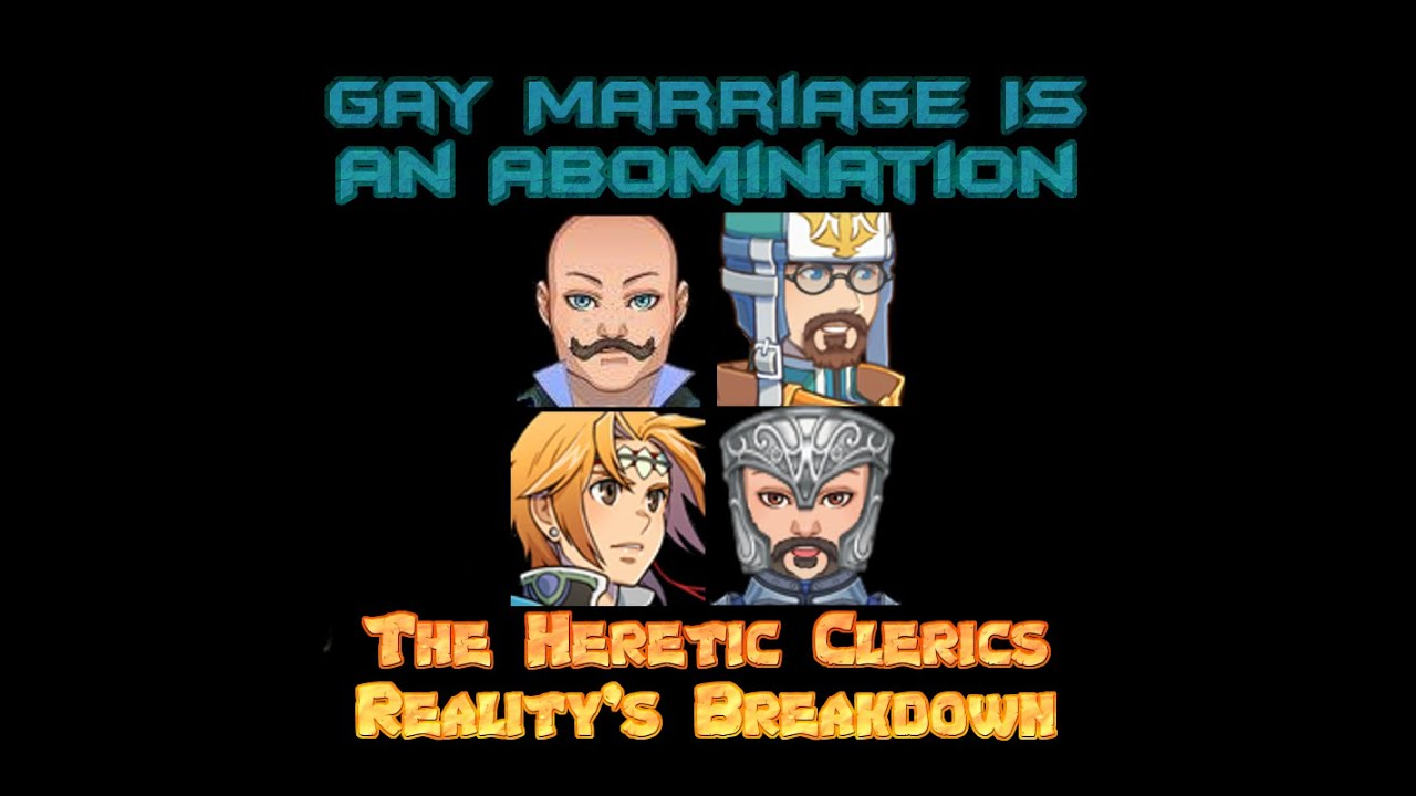from Jake gay marriage is an abomination