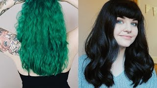 Why I Got Rid of My Green Hair