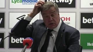 Everton 1-3 West Ham || Sam Allardyce Post Match Press Conference || Premier League