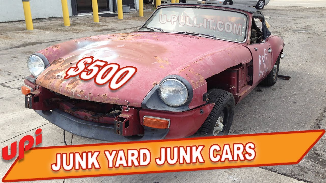 Junkyard Cars For Sale >> Junk Yard Junk Cars Sell Your Car To A Salvage Yard For Parts