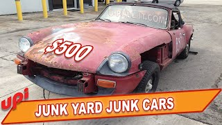 JUNK YARD JUNK CARS - SELL YOUR CAR TO A SALVAGE YARD FOR PARTS