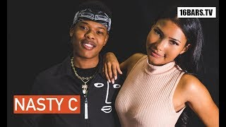 "Nasty C Interview: ""Strings and Bling"", 50 Cent, his girlfriend & Nicki Minaj (16BARS.TV)"