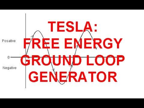 Tesla: Secret GROUND LOOP GENERATOR - FREE ENERGY - Bedini Howard Johnson Gerard Morin