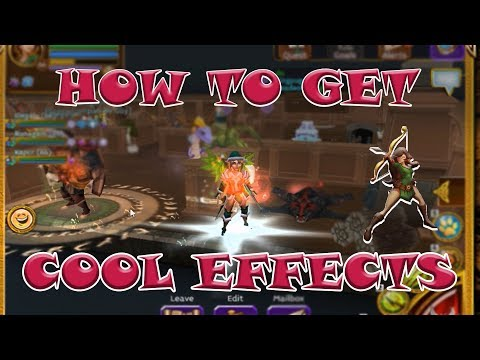 ARCANE LEGENDS | HOW TO GET COOL EFFECTS ( ENG SUB)