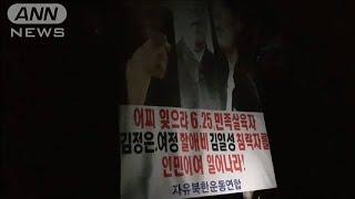 北朝鮮批判のビラ再び散布 韓国の脱北者団体が強行(20/06/23)